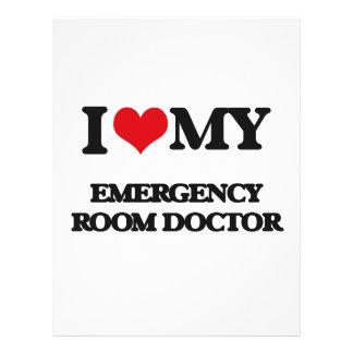 I love my Emergency Room Doctor Flyers