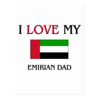 I Love My Emirian Dad Postcard