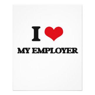 I love My Employer 11.5 Cm X 14 Cm Flyer