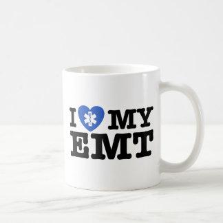 I Love My EMT Basic White Mug
