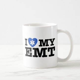 I Love My EMT Coffee Mug