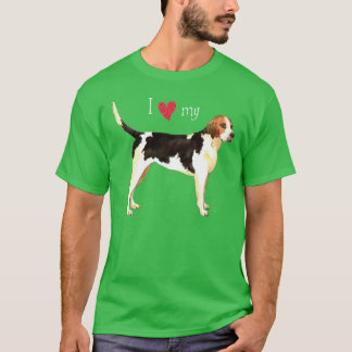 I Love my English Foxhound T-Shirt