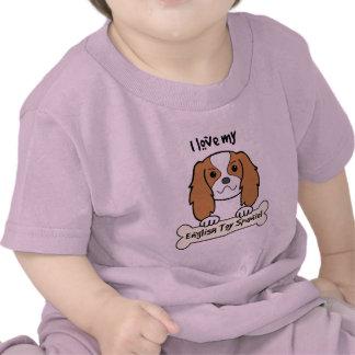 I Love My English Toy Spaniel T-shirt