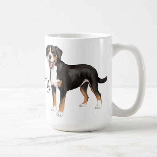 I Love my Entlebucher Coffee Mug