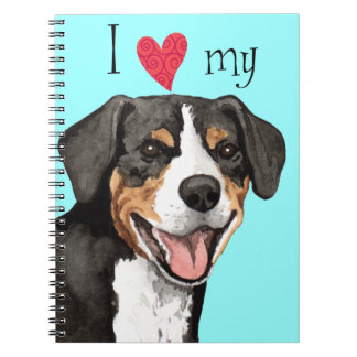 I Love my Entlebucher Notebook