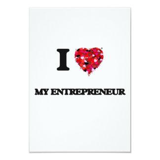 I love My Entrepreneur 9 Cm X 13 Cm Invitation Card