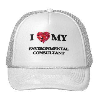 I love my Environmental Consultant Trucker Hat