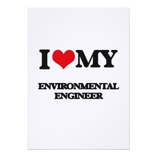 I love my Environmental Engineer Custom Invites