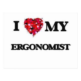 I love my Ergonomist Postcard