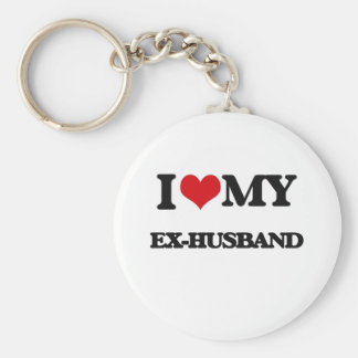 I love my Ex-Husband Key Ring