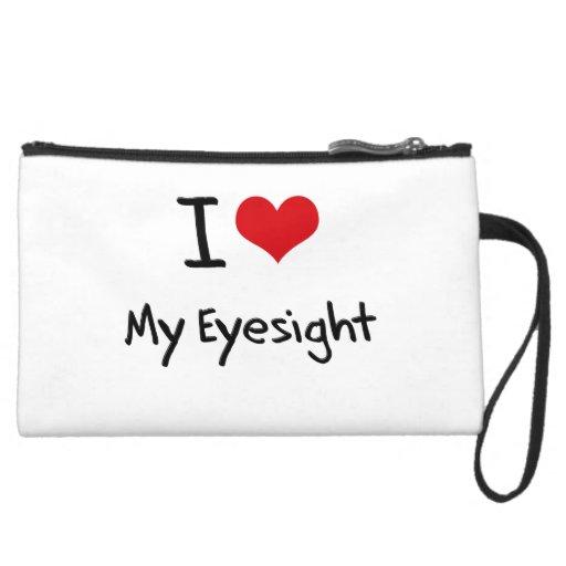 I love My Eyesight Wristlet Clutch