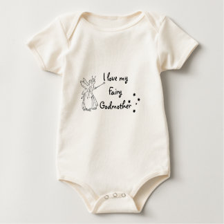 I love my Fairy Godmother Baby Bodysuit
