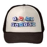 I LOVE MY FAMILY CAP