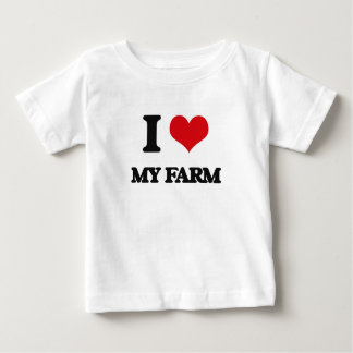 I Love My Farm Shirts