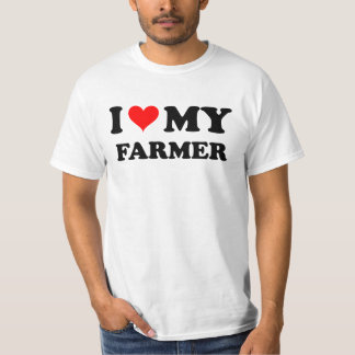 I Love My Farmer T-Shirt