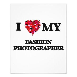 "I love my Fashion Photographer 4.5"" X 5.6"" Flyer"