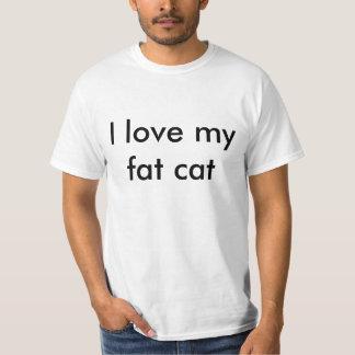 I love my fat cat tees