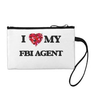 I love my Fbi Agent Coin Purse
