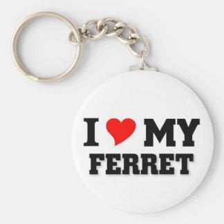 I love my Ferret Key Ring