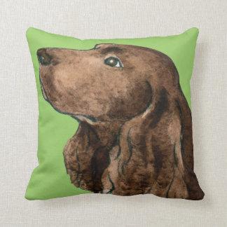 I Love my Field Spaniel Cushion