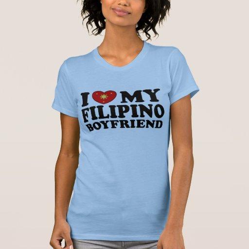 I Love My Filipino Boyfriend Shirt