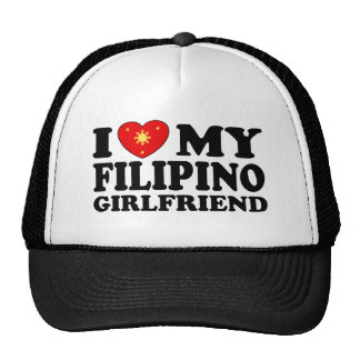 I Love My Filipino Girlfriend Trucker Hat