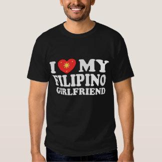 I Love My Filipino Girlfriend Shirts