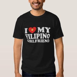 I Love My Filipino Girlfriend Tee Shirts
