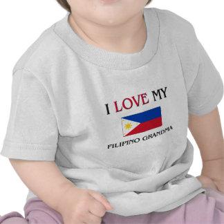 I Love My Filipino Grandma T Shirt