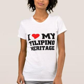 I love my Filipino Heritage T-shirts