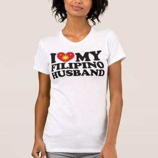 I Love My Filipino Husband Tshirts