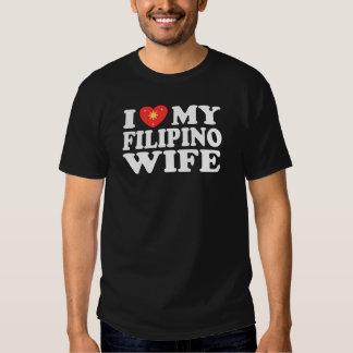 I Love My Filipino Wife Tshirts