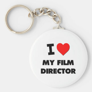 I love My Film Director Key Chains