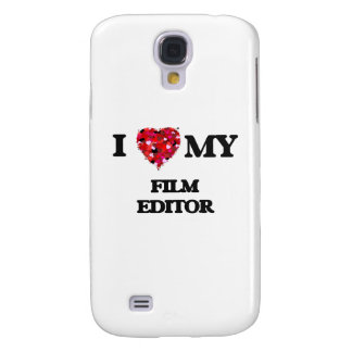 I love my Film Editor Galaxy S4 Case