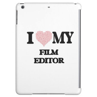 I love my Film Editor (Heart Made from Words)