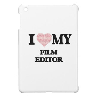 I love my Film Editor (Heart Made from Words) iPad Mini Covers
