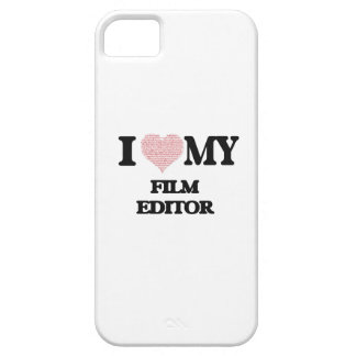 I love my Film Editor (Heart Made from Words) iPhone 5 Cover
