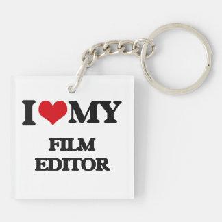I love my Film Editor Key Chains