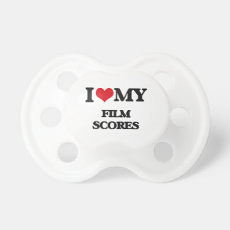I Love My FILM SCORES BooginHead Pacifier