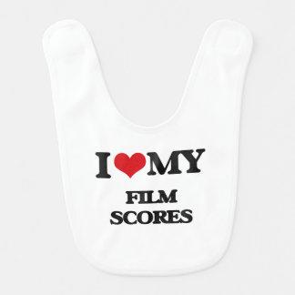 I Love My FILM SCORES Bib