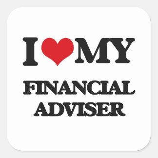 I love my Financial Adviser Sticker