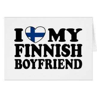 I Love My Finnish Boyfriend Card