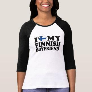 I Love My Finnish Boyfriend Shirts