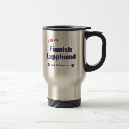 I Love My Finnish Lapphund (Female Dog) Mug