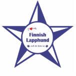 I Love My Finnish Lapphund (Female Dog) Photo Cutout