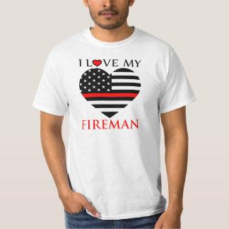 I Love My Fireman - Firefighter Women's T-Shirt