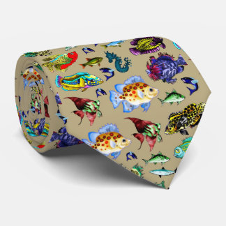 I love my fish tie #1