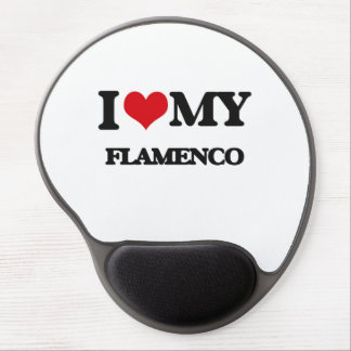 I Love My FLAMENCO Gel Mouse Pad