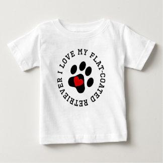 I Love My Flat-Coated Retriever Shirts