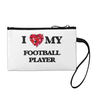 I love my Football Player Coin Wallets